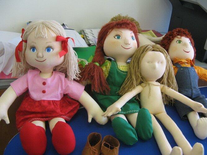 Мягкая кукла мастер класс
