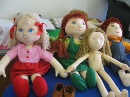 Кукла в коробке своими руками