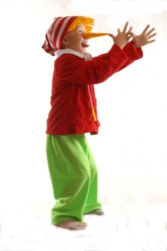 Карнавальные костюмы своими руками буратино